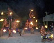 Fiji - Fire Dancers